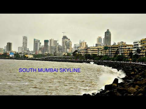 South Mumbai skyline | Marine drive | Queen's necklace.