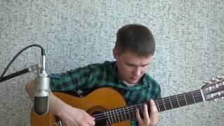 Катюша (М. Блантер) переложение для гитары