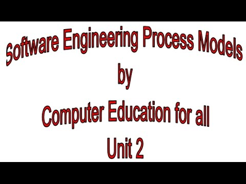 Software Engineering Process Models by Computer Education fo