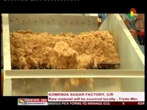 Trade Minister reacts to critics on Komenda sugar factory  4/6/2016