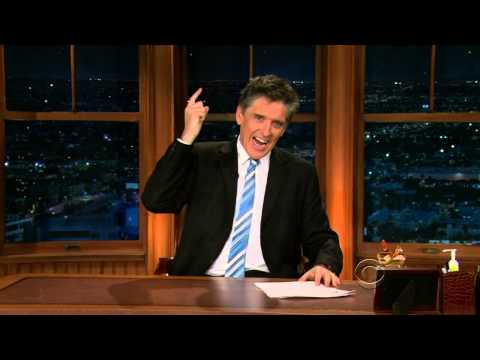 Late Late  with Craig Ferguson 2222010 Tom Everett Scott, Parker Posey