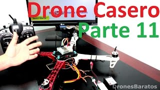 Como Fabricar Un Drone Casero En Español Parte 11 Cómo Calibrar los ESC Motores