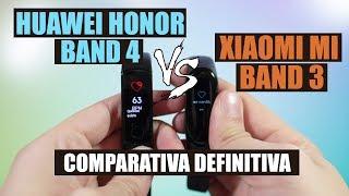 Xiaomi Mi Band 3 vs Huawei Honor Band 4, comparativa tras su uso