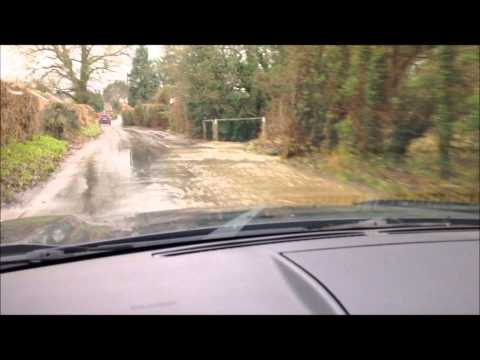 Floods in Crondall, Hampshire