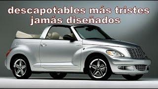 LOS 5 AUTOS DESCAPOTABLES MÁS FEOS