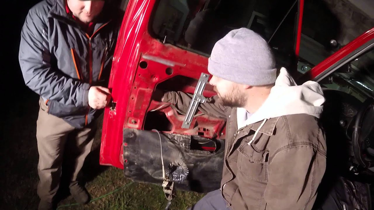 Replacing A Ford F250 Door Latch Part 1 Youtube