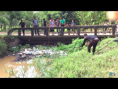SACANDO LA BASURA DEL RIO | Proyecto limpieza 1/5