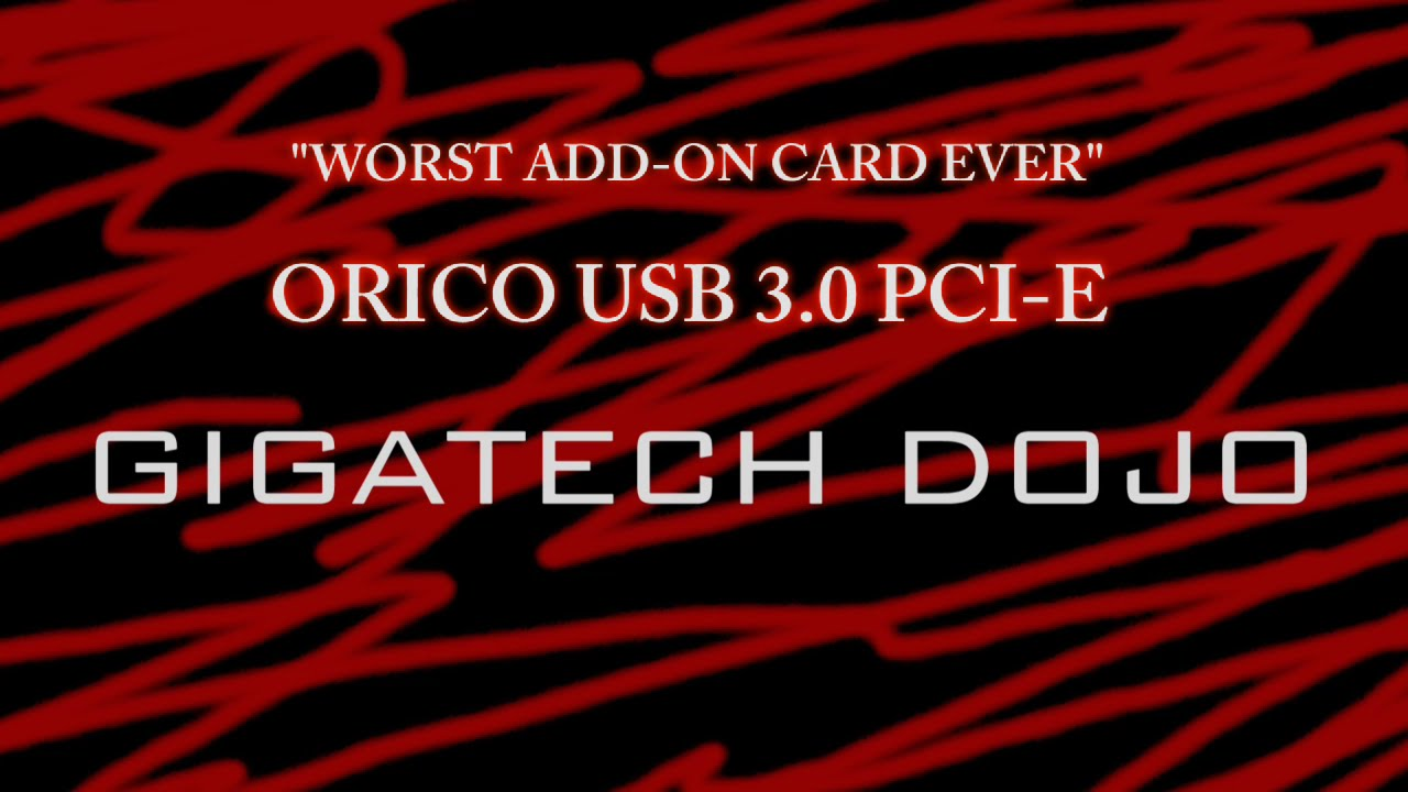 Orico Pme 4u Usb 30 4 Pci E Card Review With Ranting Youtube 7 Port Express