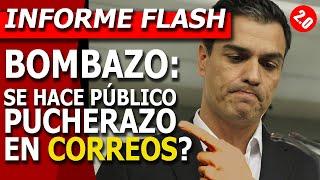 BOMBAZO: #PUCHERAZO en #CORREOS ? Elecciones de MADRID