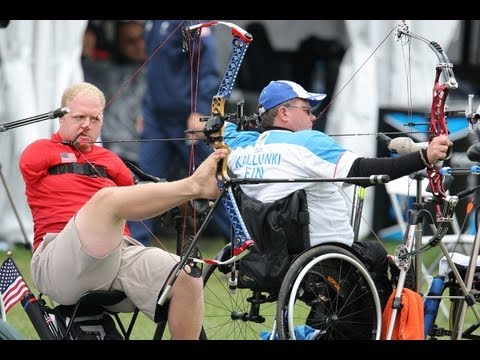 Archery highlights - London 2012 Paralympic Games