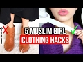 5 Clothing Hacks Every Muslim Girl Should Know! | Daniela M Biah