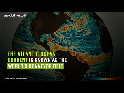 Global warming slows Atlantic Ocean currents down to a 1000 year low