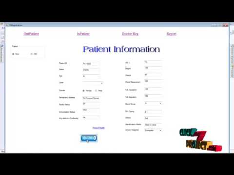 Patient information management system