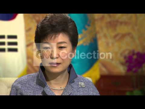 SOUTH KOREAN PRESIDENT INTERVIEW