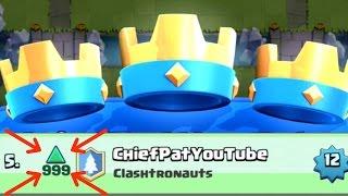 Clash Royale - INSANE Climbing! 3 Crown Galore