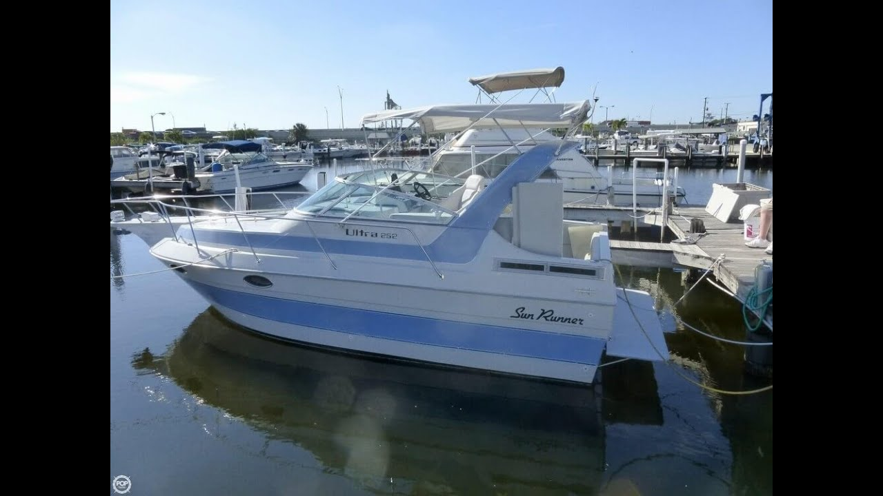 UNAVAILABLE Used 1991 Sun Runner 252 In Fort Lauderdale