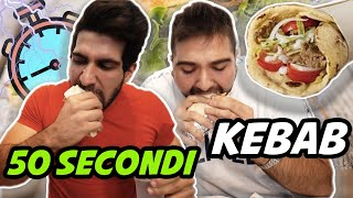 SFIDA IMPOSSIBILE - KEBAB IN 50 SECONDI VS TATINO