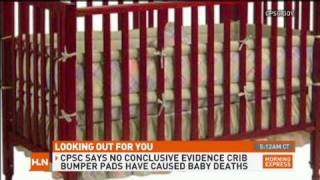 Chicago Bans Baby Crib Bumpers