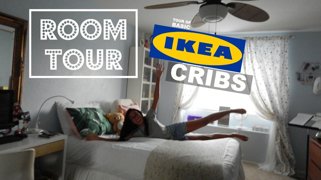 room tour ikea aesthetic crib youtube. Black Bedroom Furniture Sets. Home Design Ideas