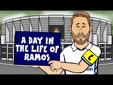 A DAY IN THE LIFE of SERGIO RAMOS! (Parody)