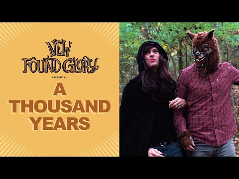 Смотреть клип New Found Glory - A Thousand Years