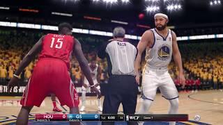NBA LIVE 2018 Playoffs Golden State Warriors vs Houston Rockets Full Game 3 NBA Finals | NBA LIVE 18