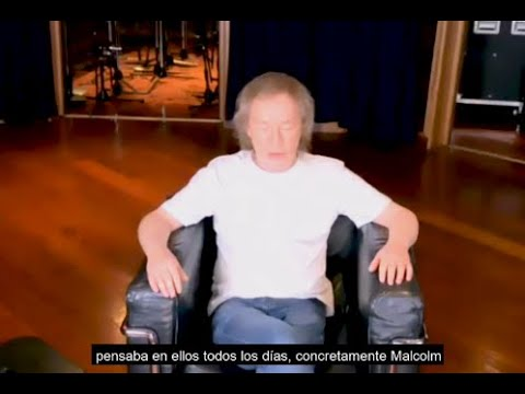 Angus Young on why he didn't include Malcolm's guitar on Power Up album
