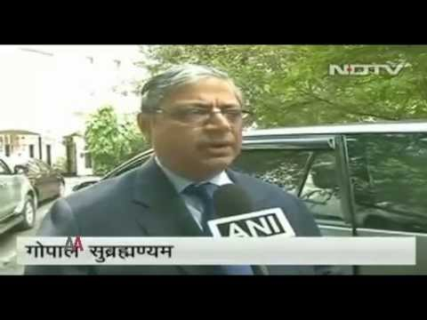 Indian Constitution Expert  K  K  Venugopal and Gopal Subramanium Slam BJP