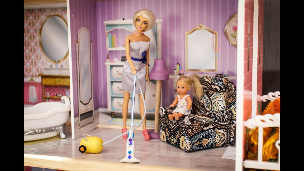 Как сделать мебель для кукол своими 67