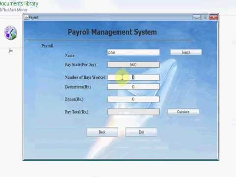 employees payroll software free download