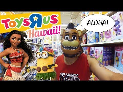 """Dicas de Viagem EUA - Conheça a Toys""""R""""Us de Honolulu, Hawaii - brinquedos para meninos e meninas"""