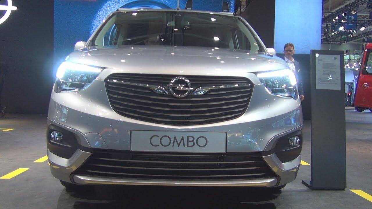 opel combo cargo xl edition combi van 2019 exterior and interior rh youtube com