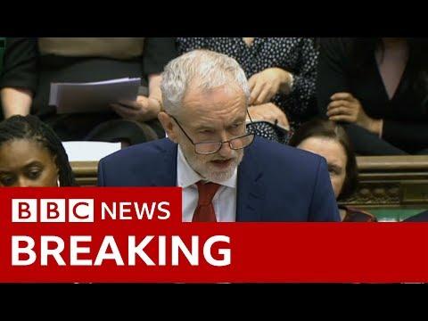Labour leader Jeremy Corbyn: PM 'should allow indicative votes' - BBC News