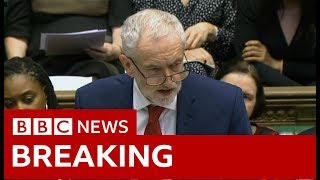 Labour leader Jeremy Corbyn: PM 'should allow indicative votes' - BBC News