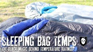 The Black Magic behind Sleeping Bag Temperature Ratings