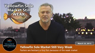 3MMI - The Pacific & Atlantic Cod Market; Weak Yellowfin Sole Markets Globally