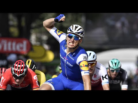 Tour de France: Kittel wins stage six as Froome retains lead