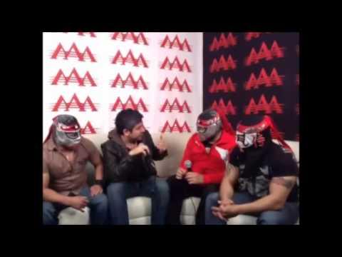 Octagon Octagon Jr Octagoncito - Pt. 1 - Twitcam con Efráin Barrera - Lucha Libre AAA - 2012