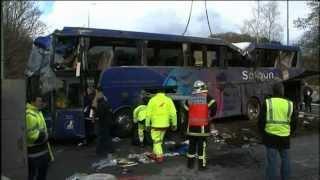 Accident de car à Quimper: une enquête a été ouverte