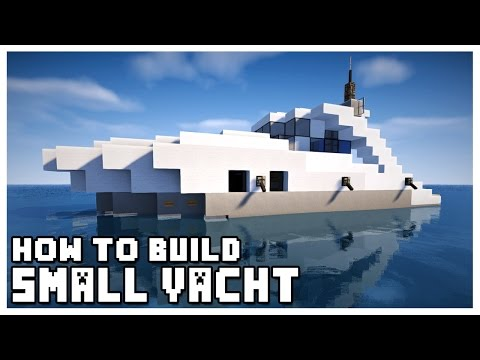 How to Build a Small Yacht in Minecraft