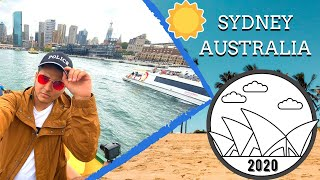SYDNEY, AUSTRALIA || TRAVEL VLOG 2020 || PART 1