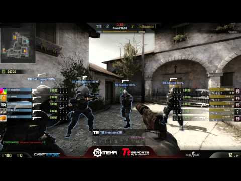 CS:GO CGo - The Infamous Enforcers vs Influence Gaming, Casted by eduze