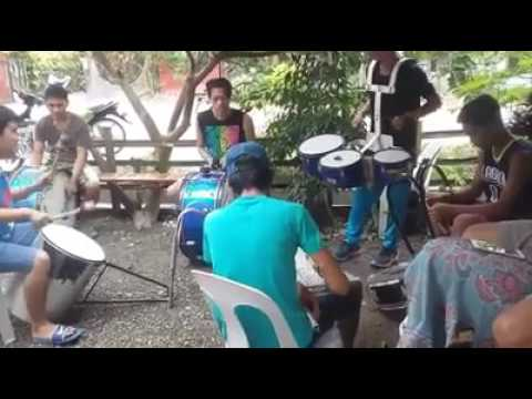 Despacito drums and lyre cover by laguinbanwa drummers