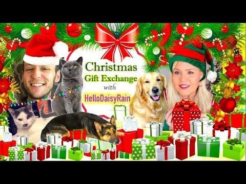 Christmas Gift Exchange with Hello Daisy Rain!