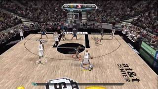 NBA 2K10 WWS4 Finals Game 1!