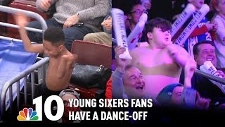 Young Sixers Fans Compete in Epic Dance-Off