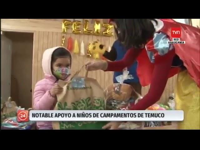 Huellas en el Corazón: Campaña solidaria del Colegio Pumahue de Temuco