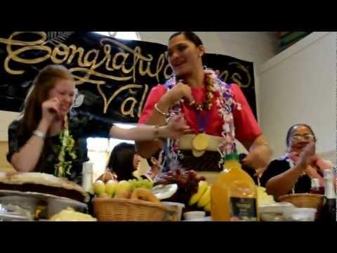 Valerie Adams family celebration 22 September 2012