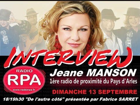 Fabrice Sarret :  interview V.I.P 13.09.2015 (JEANE MANSON)