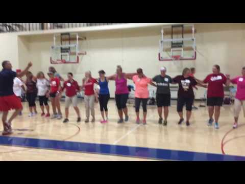 Scott Williams Halftime Show Dance at Stillwater PE Instutute